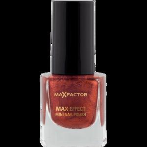 Bild: MAX FACTOR Max Effect Mini Nagellack red bronze