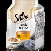Bild: Sheba Fresh & Fine Geflügel Variation