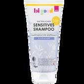 Bild: bi good Natürliches Sensitives Shampoo Kugelblume