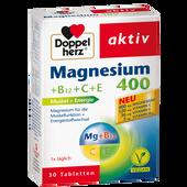 Bild: DOPPELHERZ Magnesium 400 +B12+C+E Tabletten