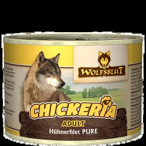 Bild: Wolfsblut Chickeria Adult Pure/Hühnerfilet