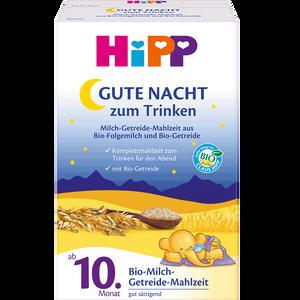 Bild: HiPP Gute Nacht zum Trinken Milch-Getreide-Mahlzeit
