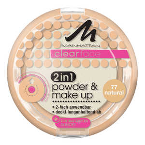 Bild: MANHATTAN Clearface 2in1 Powder & Make Up natural
