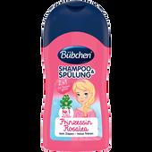 Bild: Bübchen Shampoo und Spülung mit Zauberglanz Mini