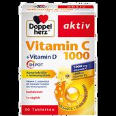 Bild: DOPPELHERZ Vitamin C 1000 + Vitamin D