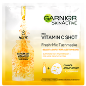 Bild: GARNIER SKIN ACTIVE Vitamin C Shot Fresh-Mix Tuchmaske