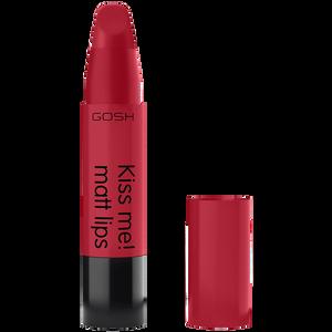 Bild: GOSH Kiss me! matt lips Lippenstift Scarlet Kiss