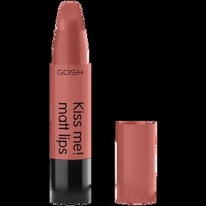 Bild: GOSH Kiss me! matt lips Lippenstift Natural Kiss