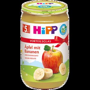 Bild: HiPP Äpfel mit Banane