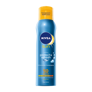 Bild: NIVEA Sun Schutz & Frische Sonnenspray LSF 50