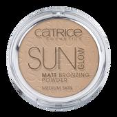Bild: Catrice Sun Glow Matt Bronzing Powder medium bronze