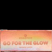 Bild: essence go for the glow highligher palette 02