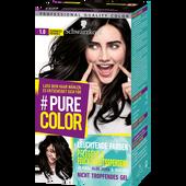 Bild: Schwarzkopf Pure Color Coloration schwarzes ebenholz