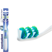 Bild: mentadent Vertical Expert Zahnbürste