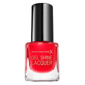 Bild: MAX FACTOR Mini Gel Shine Nagellack patent poppy
