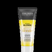 Bild: JOHN FRIEDA Sheer Blonde Go Blonder aufhellendes Shampoo Mini