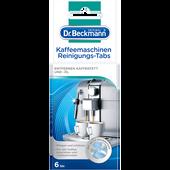 Bild: Dr. Beckmann Kaffeemaschinen Reingiungs-Tabs
