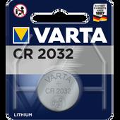 Bild: Varta Lithium Knopfzelle CR 2032