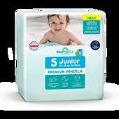 Bild: BABYWELL Premium-Windeln Junior Gr. 5