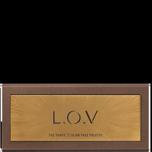 Bild: L.O.V The Shape X Glow Face Palette