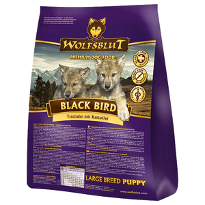 Bild: Wolfsblut Black Bird Puppy Large Breed