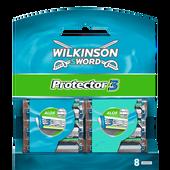 Bild: Wilkinson Protector3 Klingen