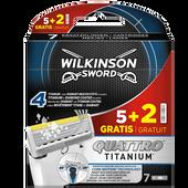 Bild: Wilkinson Quattro Titanium Core Motion Klingen