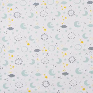Bild: biobaby Babydecke Sonne, Mond & Sterne