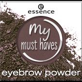 Bild: essence My Must Haves Eyebrow Powder my kind of brown
