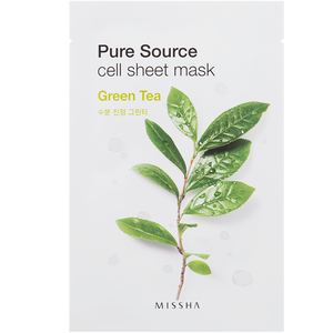 Bild: MISSHA Pure Source Cell Green Tea Tuchmaske