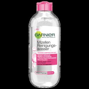 Bild: GARNIER SKIN NATURALS Mizellen Reinigungswasser trockene & empfindliche Haut