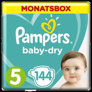 Bild: Pampers Baby Dry Gr.5 Junior 11-16kg MonatsBox