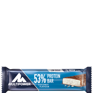 Bild: Multipower 53% Protein Bar Coconut