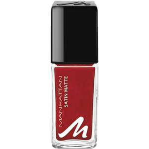 Bild: MANHATTAN Last & Shine Nagellack matte about red