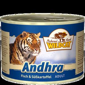 Bild: Wildcat Andhra Fisch Süßkartoffel