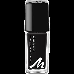 Bild: MANHATTAN Last & Shine Nagellack matte black