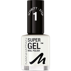 Bild: MANHATTAN Super Gel Nailpolish in love with white