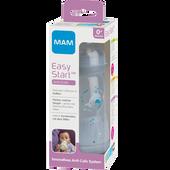Bild: MAM Easy Start Anti-Colic 260ml Time for Love - Babyflasche Grau