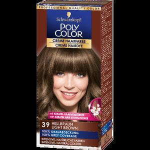 Bild: Schwarzkopf POLY COLOR Creme Haarfarbe hellbraun