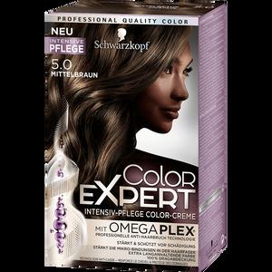 Bild: Schwarzkopf Color Expert Intensiv-Pflege Color-Creme mittelbraun