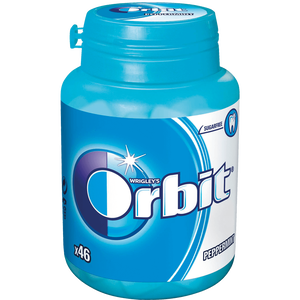 Bild: WRIGLEY'S Orbit Peppermint Bottle
