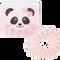 Bild: LOOK BY BIPA Spiral Zopfhalter rosa