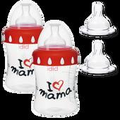 Bild: Bibi Mama-Weithalsflaschenset 4-teilig