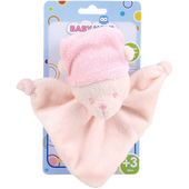 Bild: BABY-NOVA Schmusebär rosa