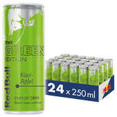 Bild: Red Bull Green Edition Kiwi Apfel Energy Drink Dose