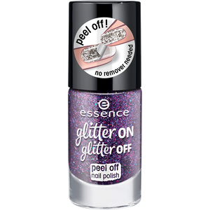 Bild: essence glitter ON glitter OFF peel off Nagellack 04