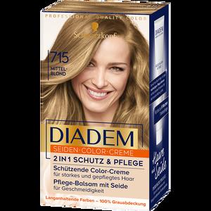 Bild: Schwarzkopf DIADEM Seiden-Color-Creme mittelblond