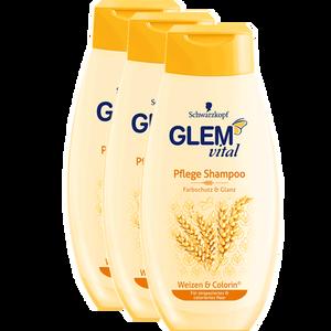 Bild: Schwarzkopf GLEM vital Pflege Shampoo Weizen & Colorin