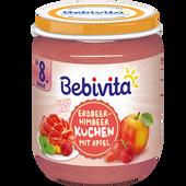 Bild: Bebivita Erdbeer-Himbeer  Kuchen mit Apfel