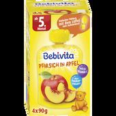 Bild: Bebivita Pfirsich in Apfel